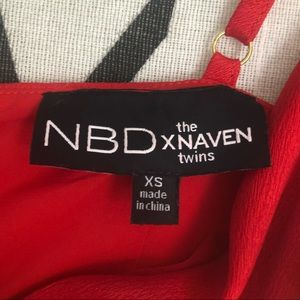 NBD Dresses - NBD x Naven Twins red dress